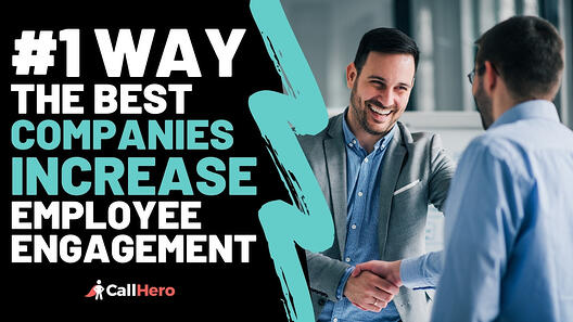 #1 Way The Best Companies Increase Employee Engagement