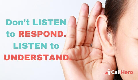 Don't listen to respond listen to understand when dealing with negative reviews of your clinic
