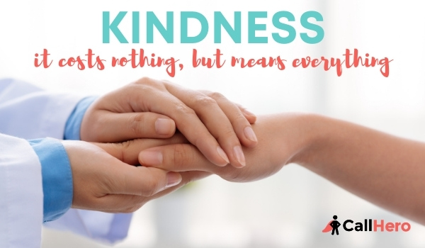 Kindness it costs nothing but means everything when you make it right with people that leave you negative reviews