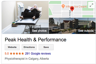 Peak Health Chiropractic Reviews