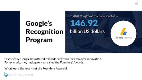 googles recognition program google Adsense made 146.92 billion dollars last year